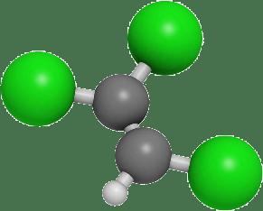 Trichloroethylene_Molecule