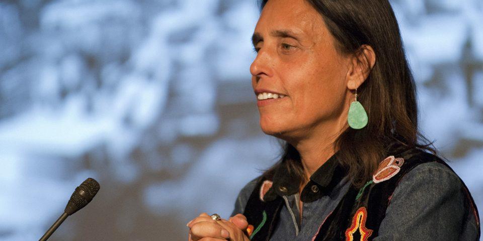 Activist Winona LaDuke