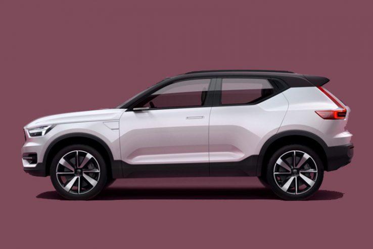 Volvo Hybrid Car