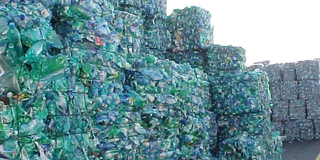 plastic bottle waste