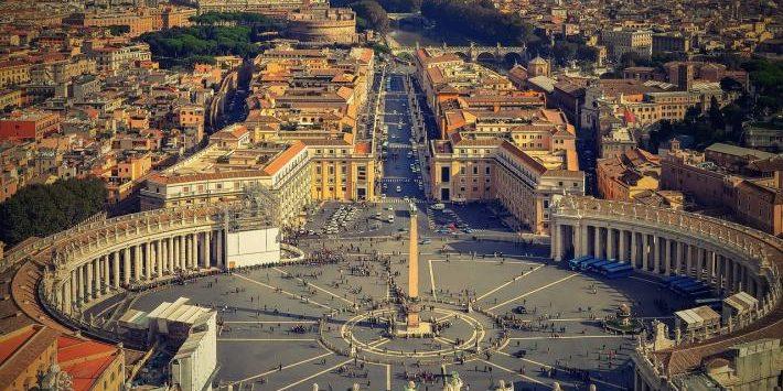 Laudato Si - Aerial Photo of Rome
