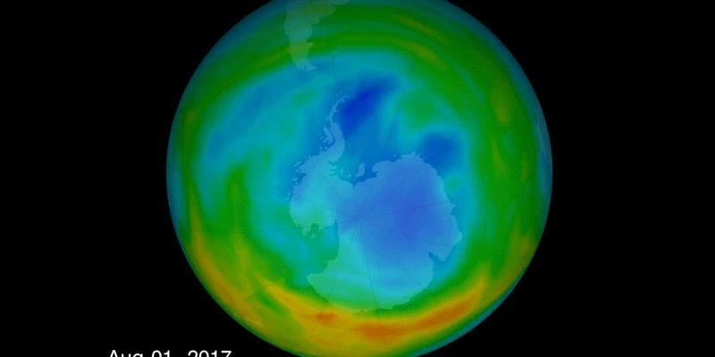 global warming color graphic