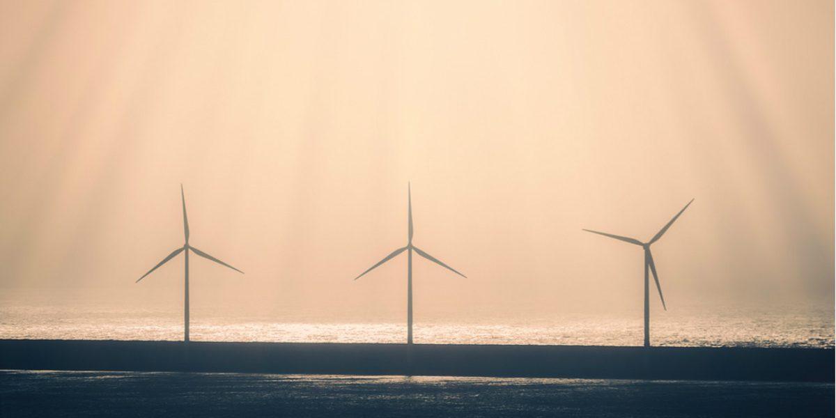 Wind Turbines Off Shore