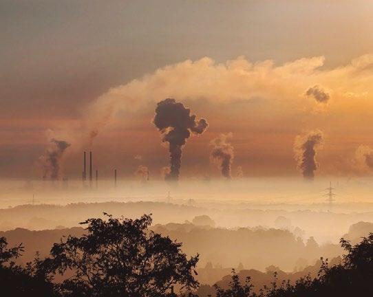 Air Pollution - Smoke Stacks Spewing Smoke