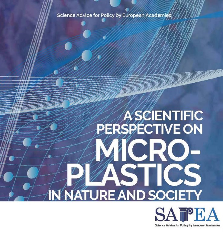 A scientific perspective on microplastics in nature and society report cover