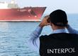 Marine Pollution - Interpol Agent with Binoculars