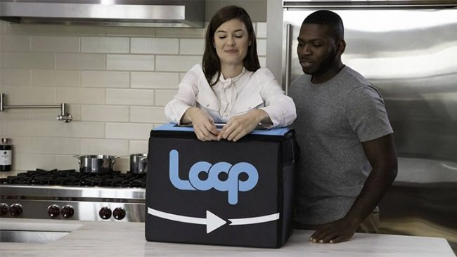 Loop Box with Two People
