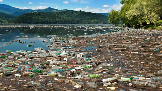 Plastic waste in environment