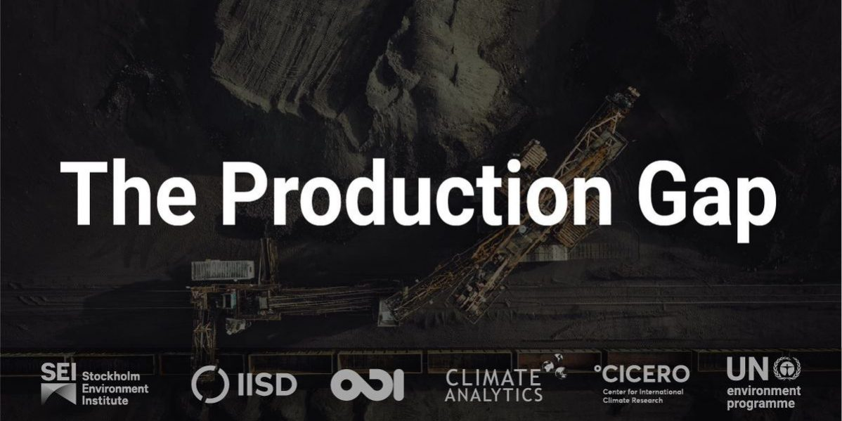 Production Gap Report