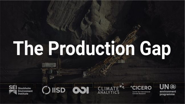 Production Gap Report