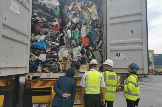plastic waste crime